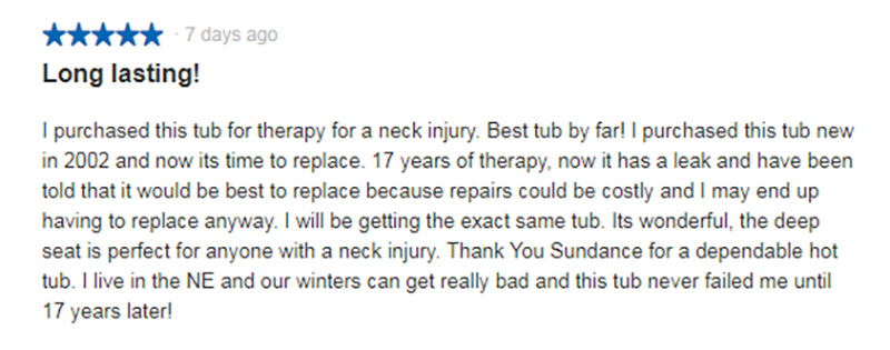 Sundance spas consumer review