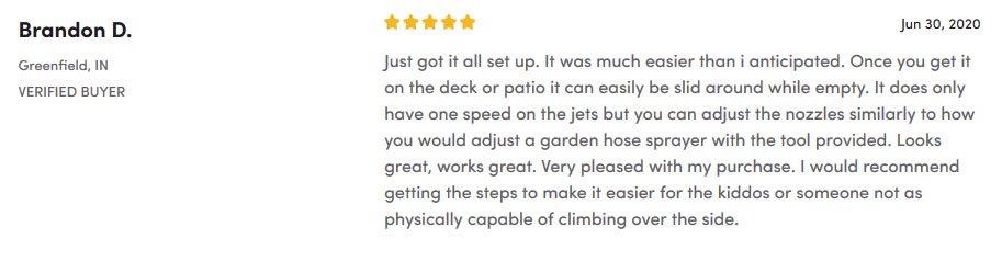 Aquarest Customer Review