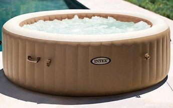 Intex PureSpa 6-Person Portable Bubble Jet Hot Tub