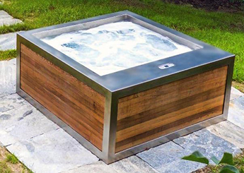 Building a Custom Stainless Steel Spa