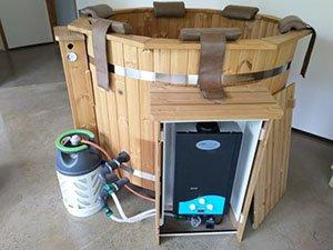 Gas Hot Tub Heaters
