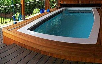 Swim Ex Paddlewheel Pool