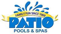 Patio Pools & Spas logo