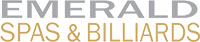 Emerald Spas and Billiards logo