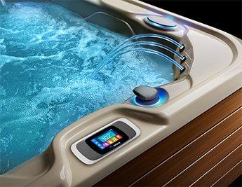Hot tub temperature in summer